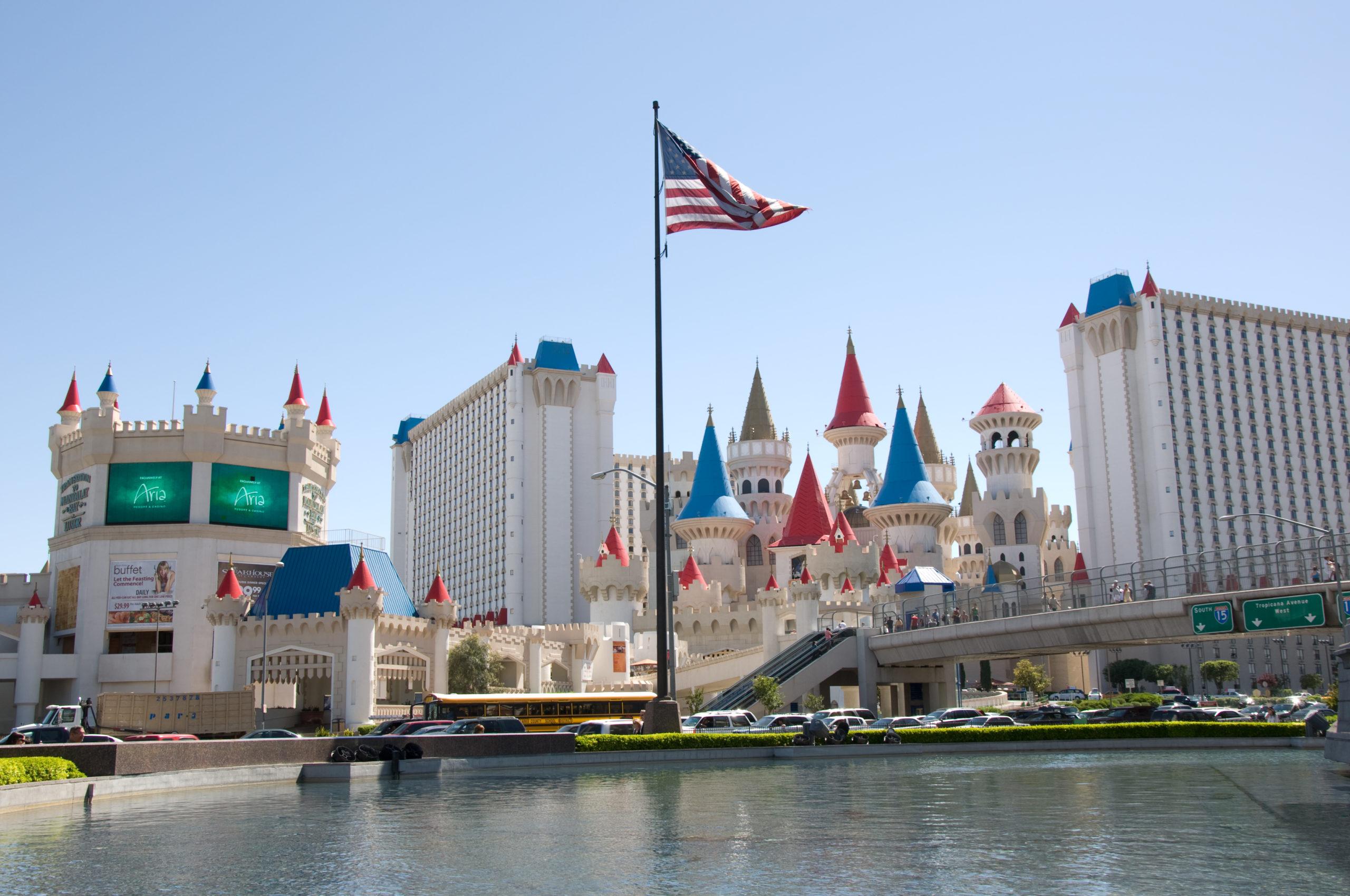 Excalibur Hotel and Casino Exterior Las Vegas Nevada